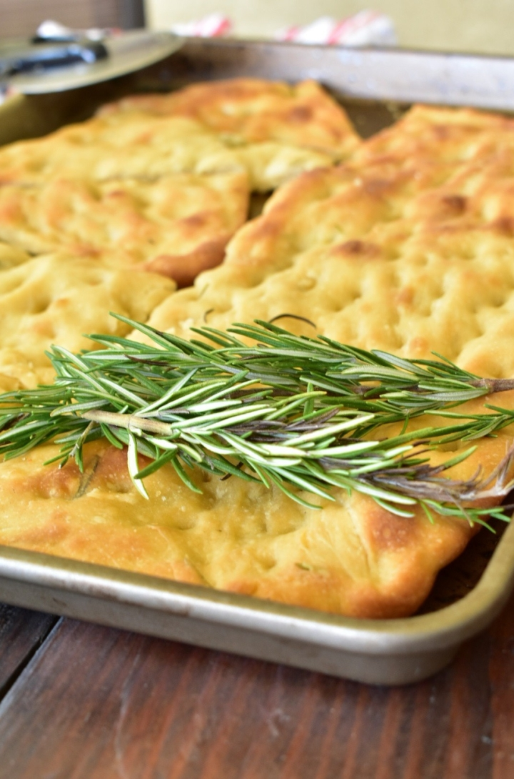 Rosemary Infused Focaccia Bread