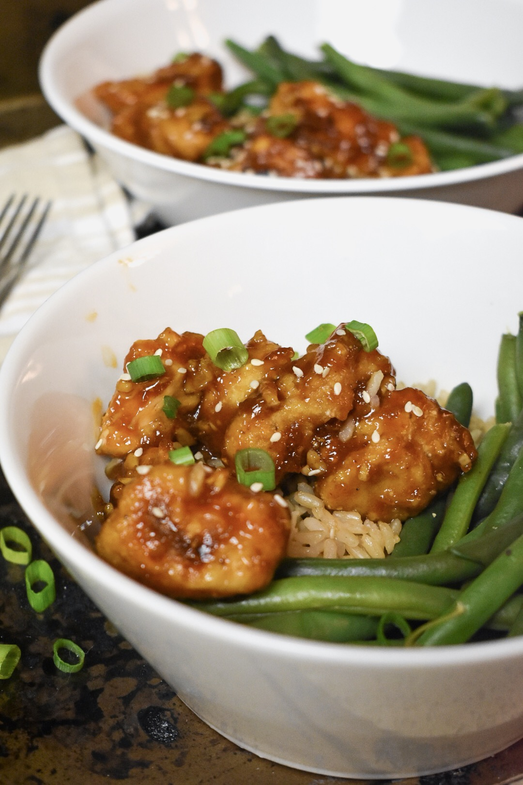 Order Chinese take-out no more! You can make your own Spicy Orange Chicken in the comfort of your home.